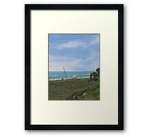 Mexico Beach Summer Framed Print
