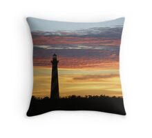 Cape Hatteras Lighthouse at Sunset - Outer Banks, NC Throw Pillow