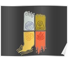 Elemental Scrolls Poster