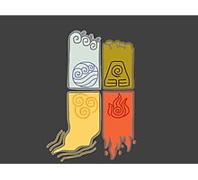 Elemental Scrolls Photographic Print