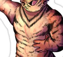 Mr. Tiger Mystery Sticker