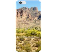 Superstition Mountains, AZ iPhone Case/Skin