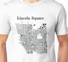 Map of Lincoln Square Unisex T-Shirt