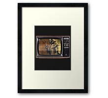 NCR TV. Framed Print