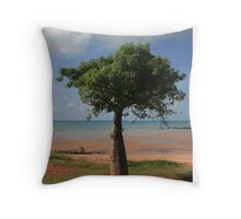 Lonely Boab Tree Throw Pillow