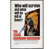 Texas Chainsaw Massacre Photographic Print