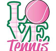 Love Tennis  by Spiralenvy