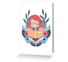The Book Queen Greeting Card