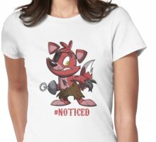 Noticed Womens Fitted T-Shirt