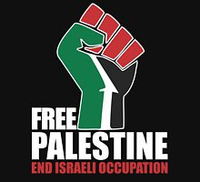 Free Palestine end Israeli Occupation Unisex T-Shirt