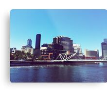 Melbourne City Metal Print