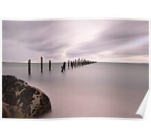 The old jetty in Bridport Poster