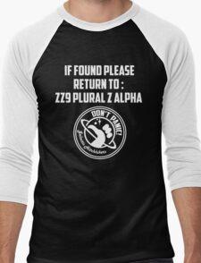 If Found.... Men's Baseball ¾ T-Shirt