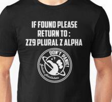 If Found.... Unisex T-Shirt