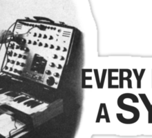 Every Nun Needs A Synthi Sticker