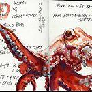 Octopus study by Cameron Hampton