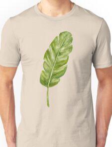 tropical leaf Unisex T-Shirt
