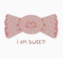 Sweet cute candy girl Kids Tee
