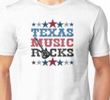 Texas  Music Rocks Unisex T-Shirt