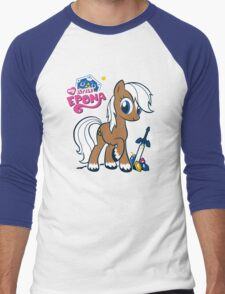 My Little Epona Men's Baseball ¾ T-Shirt