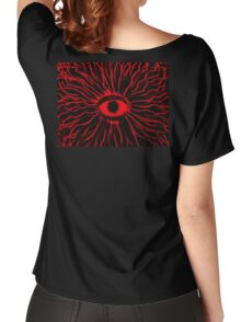 RED Mushy trip Women's Relaxed Fit T-Shirt