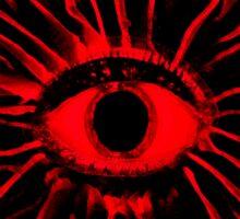 RED Mushy trip Sticker