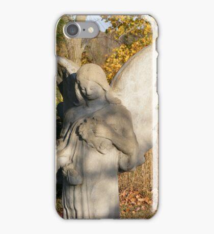 Autumn Angel iPhone Case/Skin