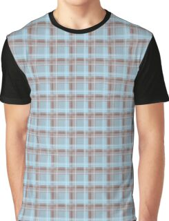 Seamless texture in the cage blue Graphic T-Shirt