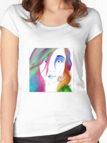 Zoe Colegrove - Self Portrait Women's Fitted Scoop T-Shirt