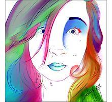 Zoe Colegrove - Self Portrait Photographic Print