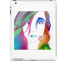 Zoe Colegrove - Self Portrait iPad Case/Skin
