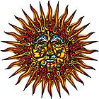 Psychedelic Sun by David Sanders