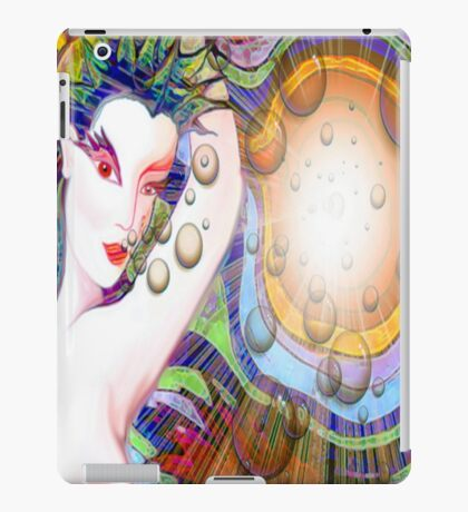 #*Naked Girl Time Travelling#* iPad Case/Skin