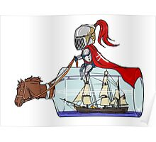 Sailor knight Poster