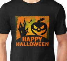 Happy Halloween Jack o'Lantern Pumpkin  Unisex T-Shirt