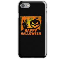 Happy Halloween Jack o'Lantern Pumpkin  iPhone Case/Skin