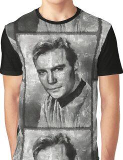 William Shatner Star Trek's Captain Kirk Graphic T-Shirt