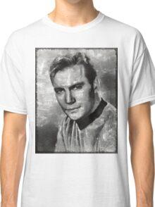 William Shatner Star Trek's Captain Kirk Classic T-Shirt
