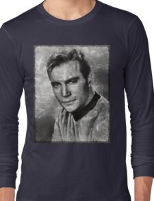William Shatner Star Trek's Captain Kirk Long Sleeve T-Shirt