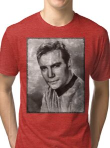William Shatner Star Trek's Captain Kirk Tri-blend T-Shirt