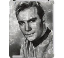 William Shatner Star Trek's Captain Kirk iPad Case/Skin