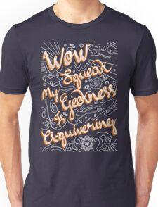 Wow. Squeak. Unisex T-Shirt