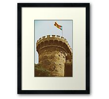 Torres (Towers) de Quart In Valencia Framed Print