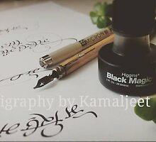 THE ART OF LETTERING! by Kamaljeet Kaur