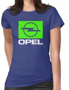 Opel Automobile Womens Fitted T-Shirt
