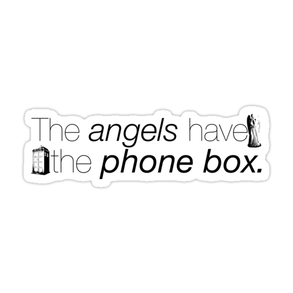 The Angels Have the Phonebox by zebington