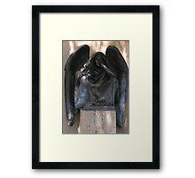 Grant's Angel of Death ~ San Diego, California Framed Print