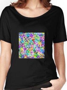 Splatter Paint Women's Relaxed Fit T-Shirt