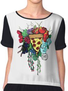 Bouquet fit for me:Pizza Chiffon Top