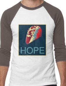 Hope for Taco Truck on Every Corner Men's Baseball ¾ T-Shirt